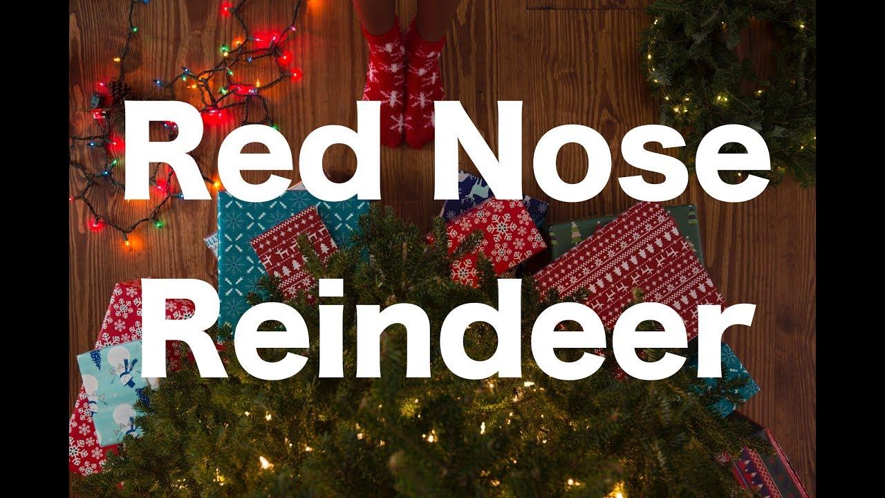 誰も知らない冬の名曲 Red Nose ...