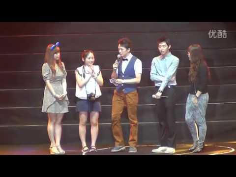 20120908 - Yoochun Fanmeeting Shenzhen - Part 1 (talk + Games)