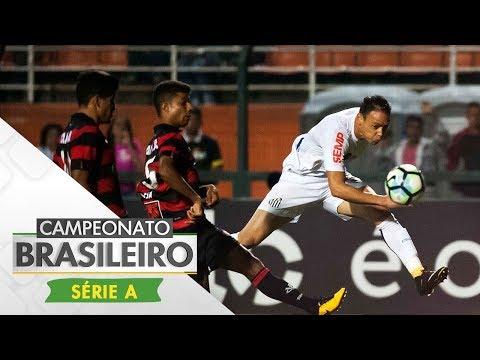 Melhores momentos - Santos 2 x 2 Vitória - Campeonato Brasileiro (16/10/2017)