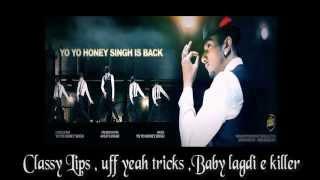 Blue Eyes - Honey Singh Full Song with Lyrics & Audio HQ