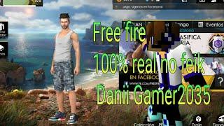 Juego free fire y pasa esto 'vDanii Gamer2035