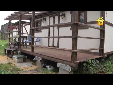 видео: Хозблок за четыре дня и терраса на покрышках // forumhouse