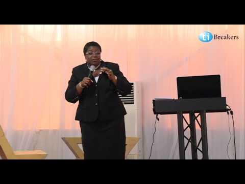 Mrs. Morin Desalu at Tibreakers Career Conference 2014