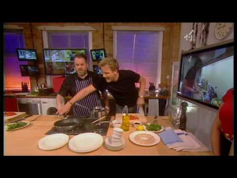 Chris Moyles on Cookalong: Live (Part 1 of 6) (Fri 18 Jan 2008)