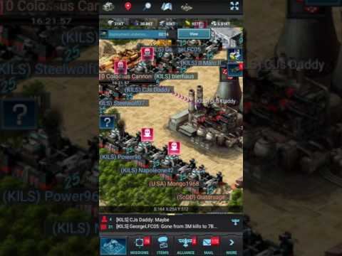 Mobile Strike 101: Taking the CP with ease against a maxed base