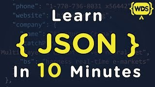 Learn JSON in 10 Minutes