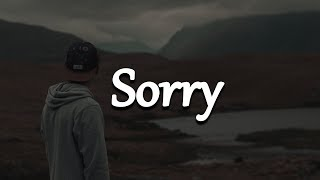 """SORRY"" Sad Deep Piano Hip Hop Instrumental Rap Beat"