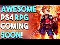 AWESOME PlayStation 4 RPG SOON! Another NEW Battle Royale Game TOMORROW!