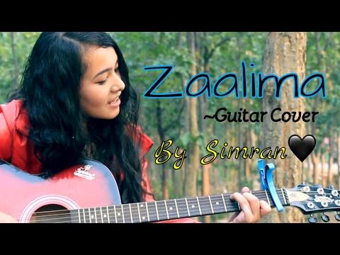 Zaalima (Raees) Acoustic Female Cover🎸| Arijit Singh | Harshdeep Kaur🖤