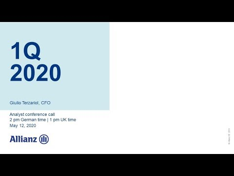 Allianz Group Analyst Conference Call on 1Q 2020