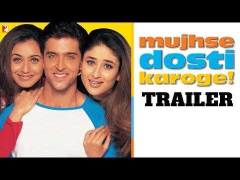 Mujhse Dosti Karoge Official Trailer Hrithik Roshan Kareena Kapoor Rani Mukerji