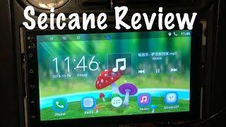 Seicane Radio Review H605E - 2 DIN, 7 in, Android, Touchscreen (Miata)
