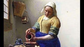 ASMR - The Milkmaid by Vermeer