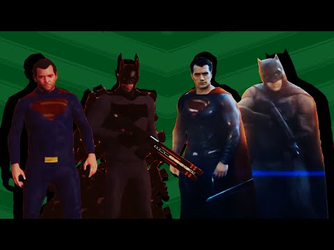 Batman v Superman: Dawn of Justice Trailer Recreated in GTA V [Side by Side Comparison]