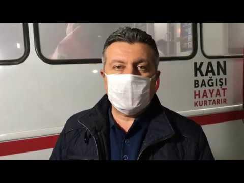 Belediye Başkanımız Alp Kargı'dan Kan Bağışı Çağrısı