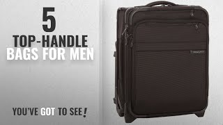 Top 10 For Men Top-Handle Bags [2018]: Briggs & Riley Baseline Uprights