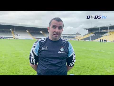 Dublin Under 20s Hurling manager Paul O'Brien speaks to DubsTV