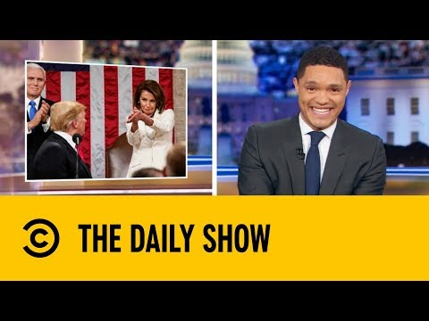 Donald Trump's Unmemorable State Of The Union Speech | The Daily Show with Trevor Noah thumbnail
