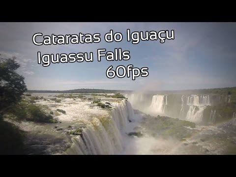Cataratas do Iguaçu - Iguassu Falls (60fps)