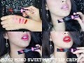 Moko Moko Matte Lip Creme Swatches & Review | Delmira Anggita
