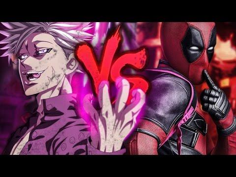 Ban Vs Deadpool Duelo De Titas 7 Minutoz Letras Com