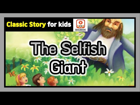 The Selfish Giant   TRADITIONAL STORY   Classic Story For Kids   Fairy Tales   BIGBOX