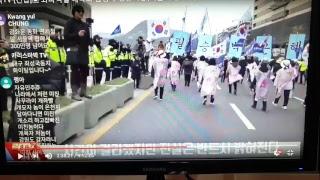 김창호  목자  대한 폭도당에  폭행당하다.