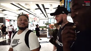 Can Robbie Survive 13 Hour Flight With DT & Troopz?  | AFTV in Singapore 2018 Vlog Day 1
