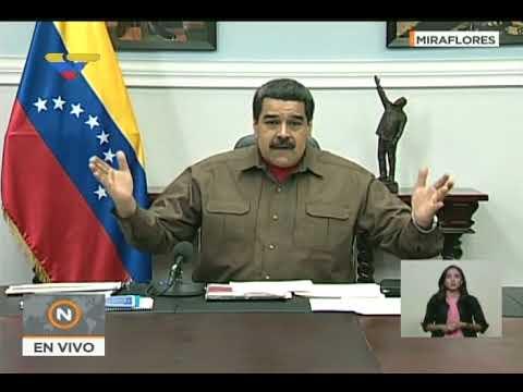 (COMPLETO) Maduro ordena emitir 100 millones de Petros y otros anuncios sobre la criptomoneda