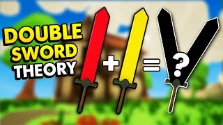 THE DOUBLE SWORD THEORY IN MY LITTLE BLACKSMITH SHOP! (My Little Blacksmith Shop Funny Gameplay)