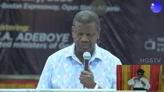 PASTOR EA ADEBOYE SERMON  SPECIAL DIVINE ENCOUNTER DAY 1