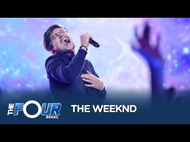 Santaella faz a plateia dançar ao som de Earned It, do The Weeknd