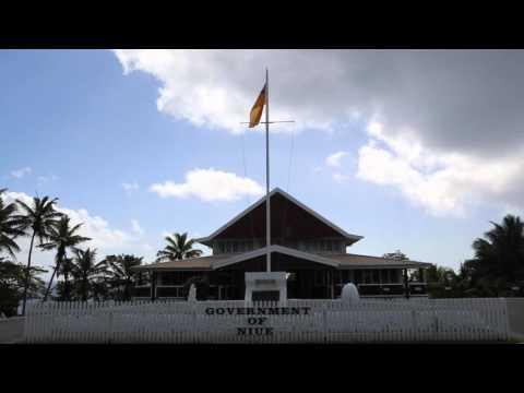 Niue Alofi Centre ville / Niue Alofi City center