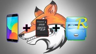 видео Замена внутренней памяти на SD карту / PRO Android #1