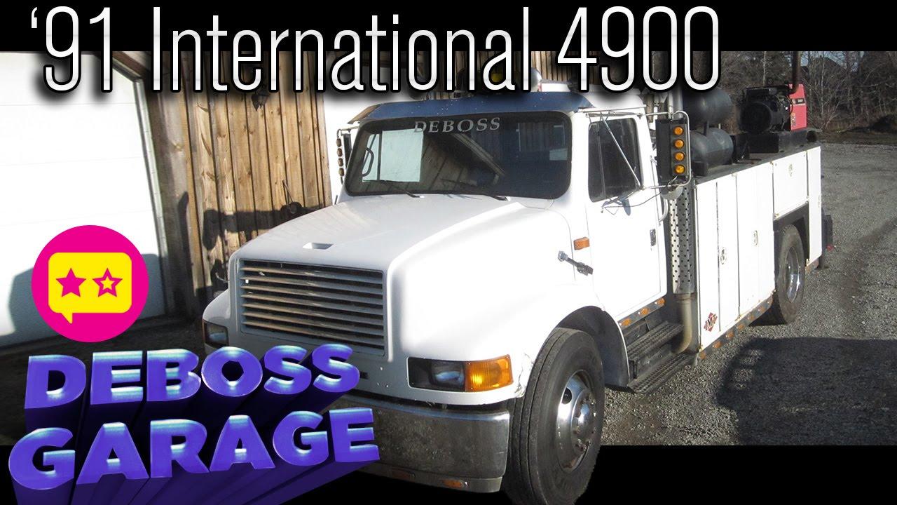 Review: '91 International 4900 Service Truck