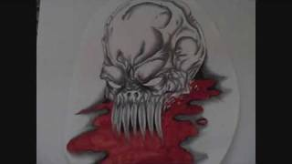 Demonic Skull Art Video