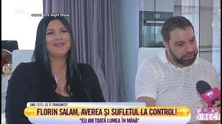"""Florin Salam, dezvăluiri în premieră: """"Terminați mai cu astea, cu rom, cu verde de Paris... """""""