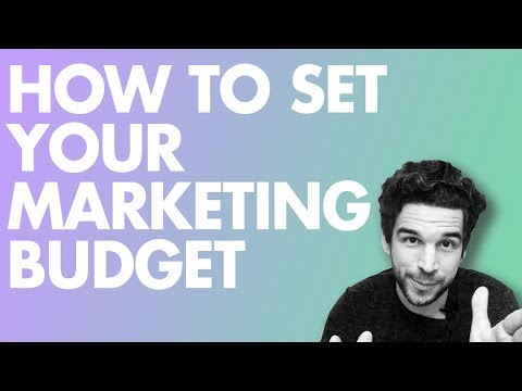 How to Set Your Marketing Budget (A Simple Technique)