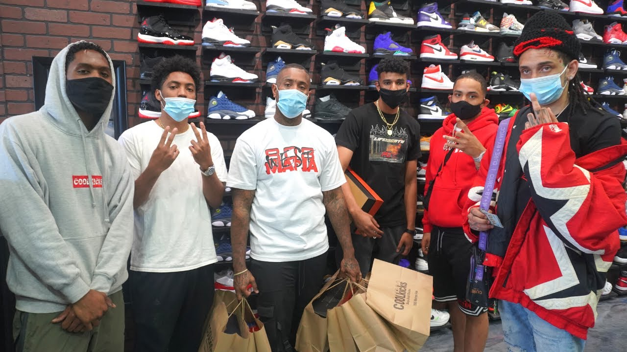 Southside Goes Shopping For Sneakers With CoolKicks