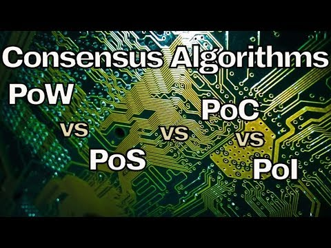 Proof of work, stake, space, importance. Science behind consensus algorithms.