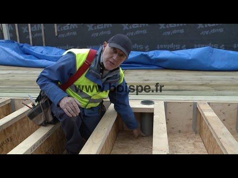 Bien r aliser un plancher de rdc en bois youtube for Prix poutre en i osb
