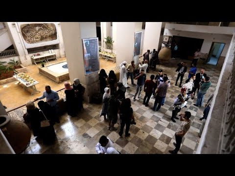 Antiquities museum reopens in Syria