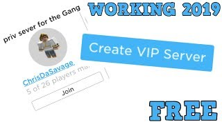 ROBLOX JAILBREAK HOW TO GET A FREE VIP SERVER!! 2019 **WORKING**