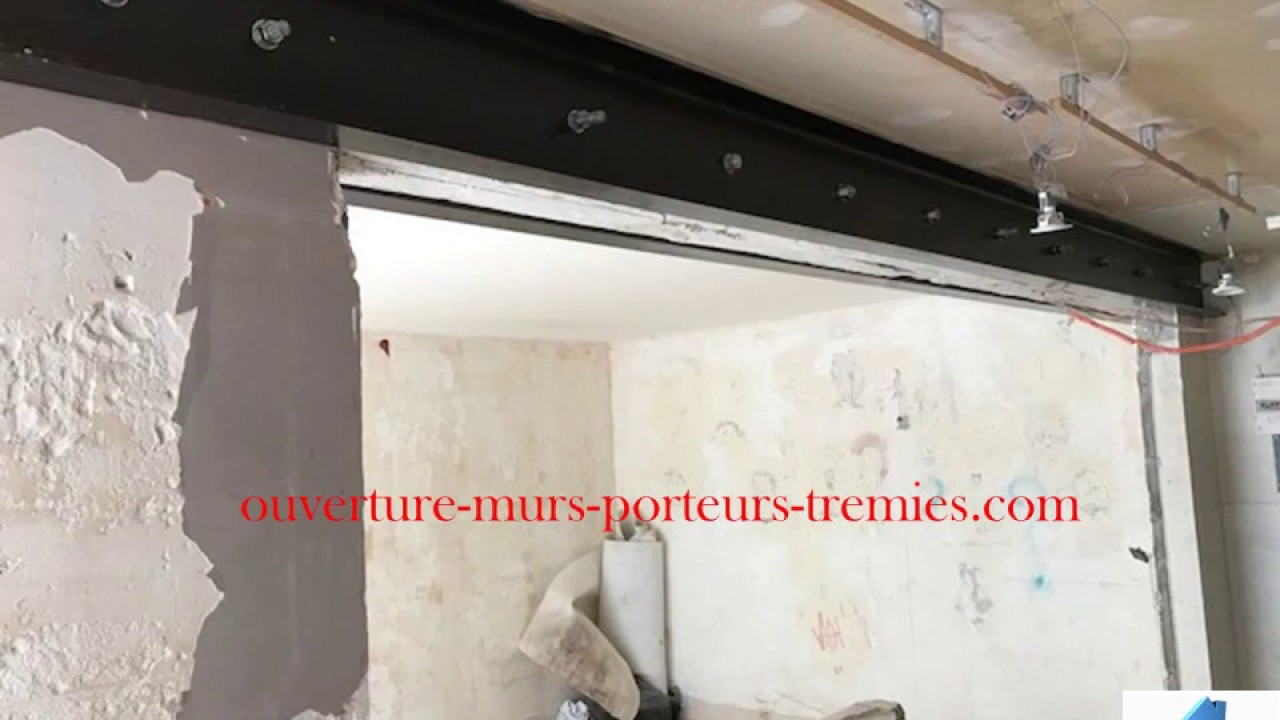 ouverture murs porteurs tr mies paris 18 youtube. Black Bedroom Furniture Sets. Home Design Ideas
