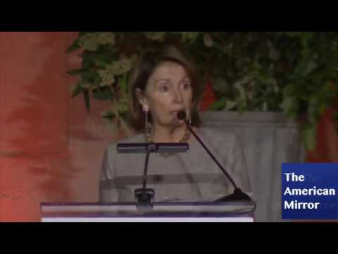 Nancy Pelosi garbles words, mispronounces countries in short speech