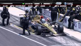 Indycar 2015. Round 6. Indianapolis 500. Race [Part 1⁄2]