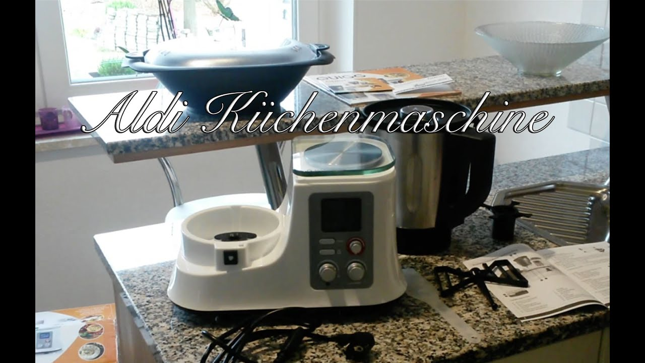 Aldi Küchenmschine Unboxing Vorwerk Thermomix Alternative ? You
