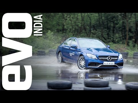 Drifting Lessons in a Mercedes-AMG C 63 S