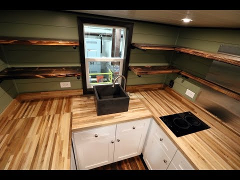 Steampunk Everest – Titan Tiny Homes  – Tiny House for Sale – Tiny House Listings