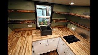 Video Steampunk Everest - Titan Tiny Homes  - Tiny House for Sale - Tiny House Listings download MP3, 3GP, MP4, WEBM, AVI, FLV Juni 2018